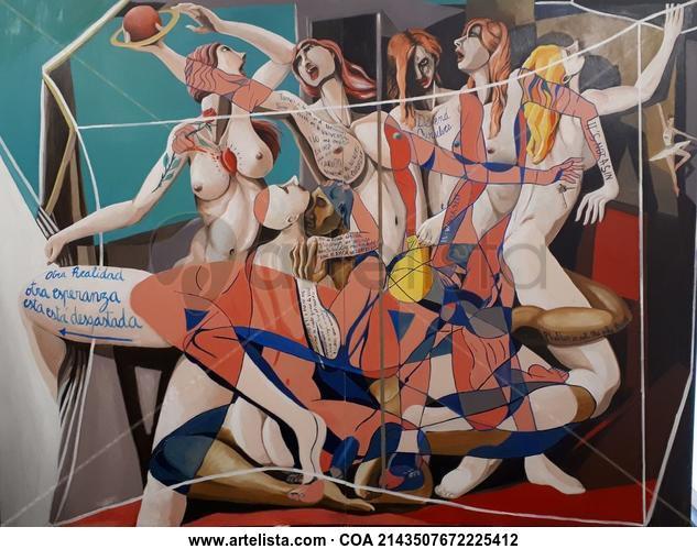 Empoderamiento II Figure Painting Oil Canvas
