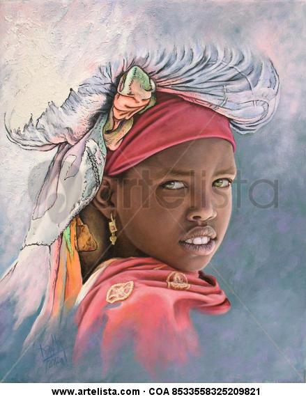 niña de áfrica 60