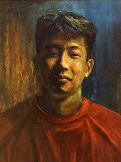 TOMOYUKI SASAKI Óleo Lienzo Retrato