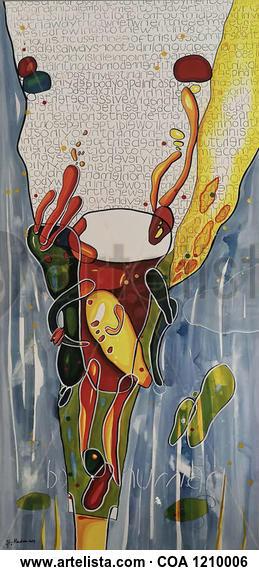 Human Being II Otros Acrílico Tela