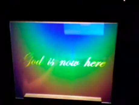 God is now here - God is nowhere