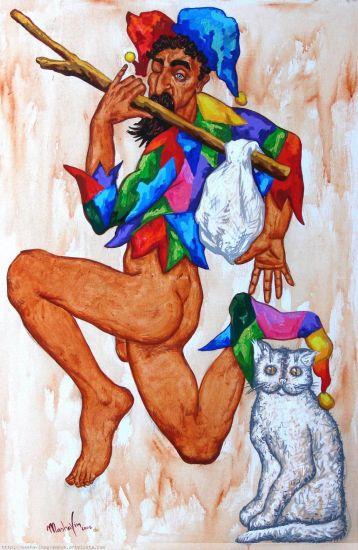 EL LOCO Acrylic Canvas Nude Paintings