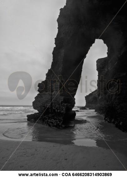 Silencio 12 Blanco y Negro (Digital) Naturaleza
