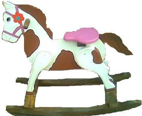 caballo balancin Varios Pintura