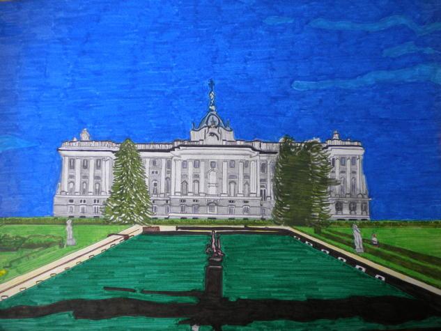 El palacio de Oriente Lápiz