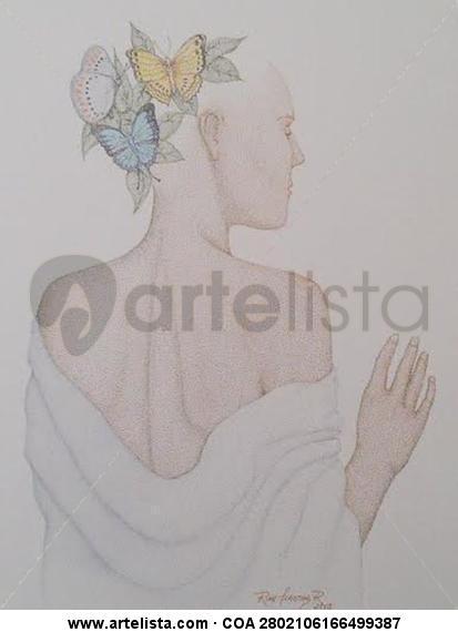 Mariposas Papel Tinta Figura