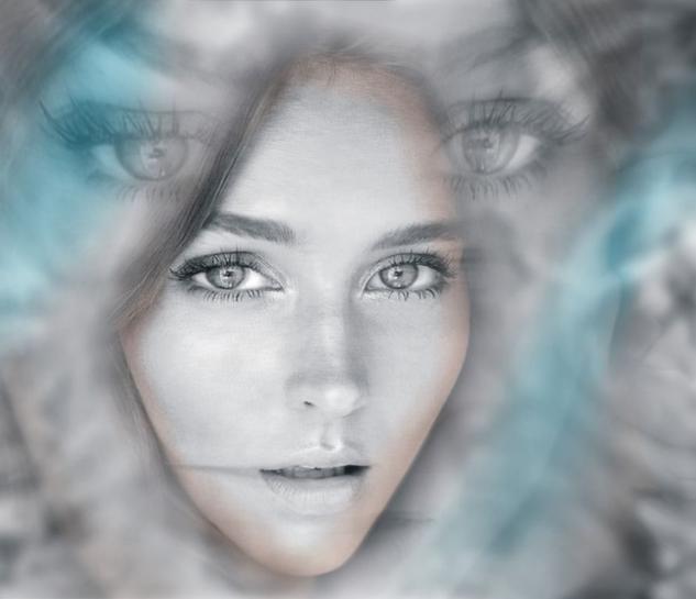SIBERIA Blanco y Negro (Digital) Retrato