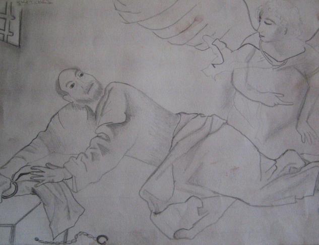 señor y ángel Lápiz