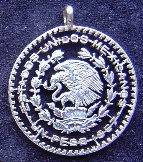 Moneda Mexicana Joyería Metal