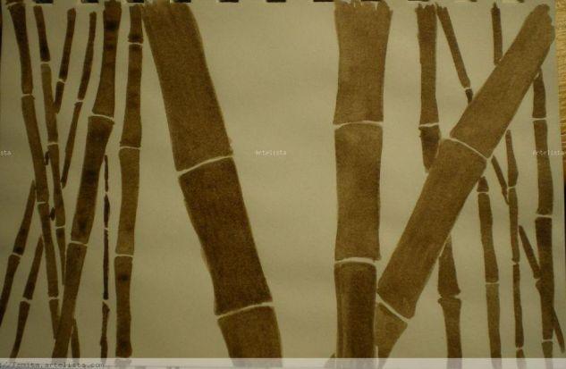 Caña bambú Tinta