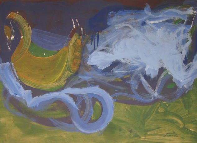 cisne y nebulosa