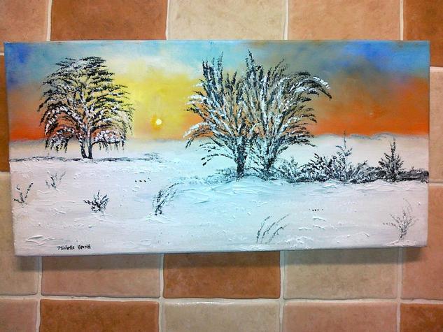The beauty of winter Lienzo Óleo Otros