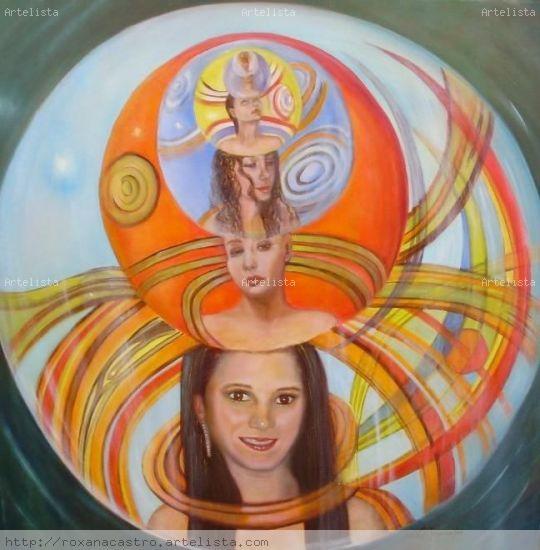 Universos Paralelos Oil Canvas Others