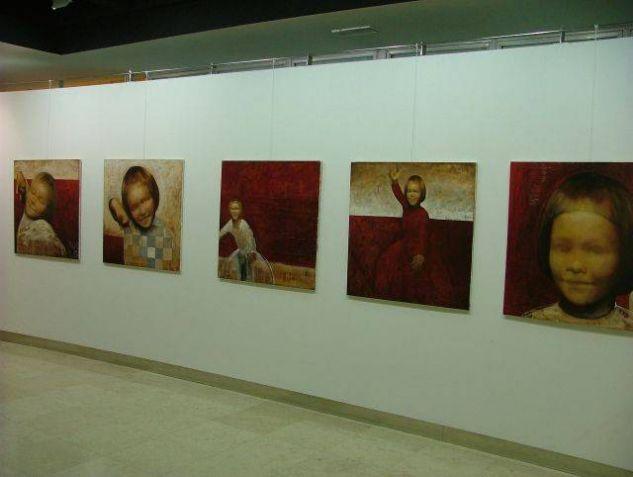 Exhibition in Zagreb Óleo Lienzo Otros