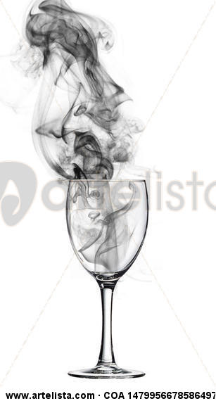 ENRICO PITTON - una copa de fumo 03 Black and White (Digital) Conceptual/Abstract
