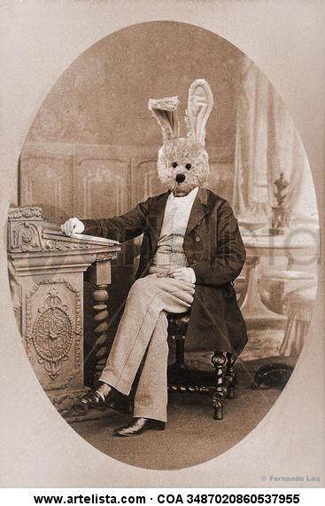 Lord Rabbit Papel Retrato