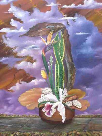 Poesia de Otoño Óleo Lienzo Floral