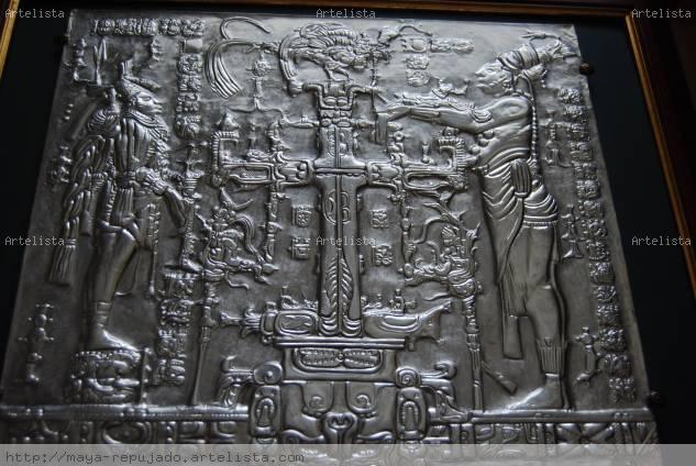 Cruz Maya  Historia de la dinastia de los Mayas, ( KAN BALAN II)  2' parte de 3