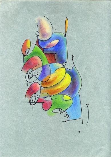 Art Papel Lápiz (a color) Otros