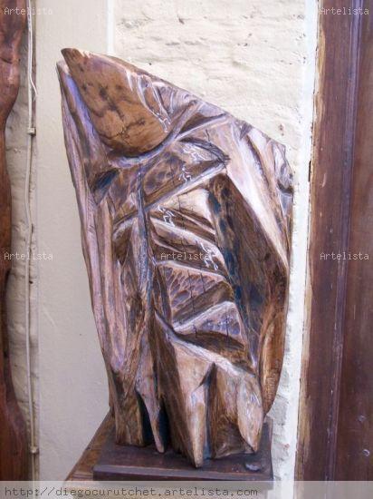 LLEGANDO A  LA CUMBRE Wood Abstract