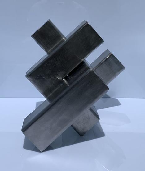 Ginkgo pulida Abstracta Metal