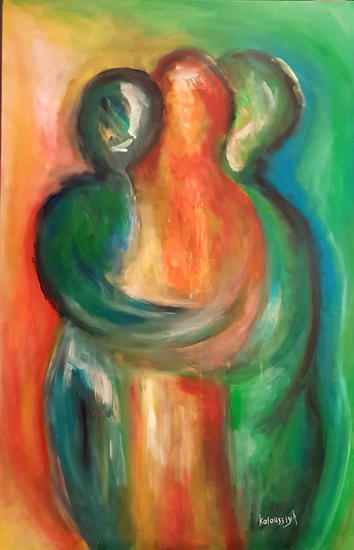 Untitled Figura Acrílico Lienzo