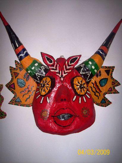 Máscara de los Diablos de Yare