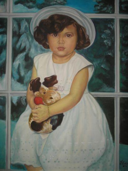 niña 2 Óleo Lienzo Retrato