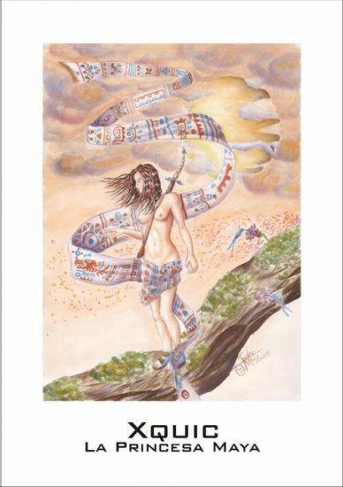 Xquic, la princesa maya Decoración Varios