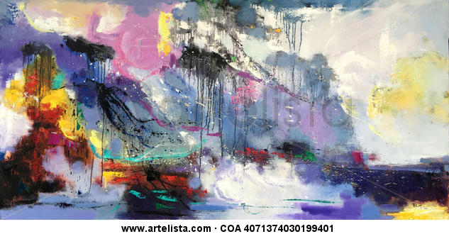 abstract 113 Lienzo Óleo Otros