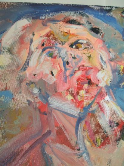 detaille de autoretrato Óleo Lienzo Desnudos