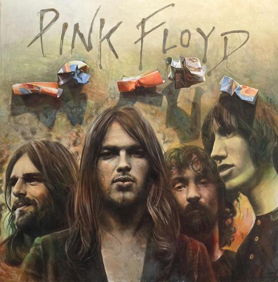 """Antonio Capel """"Pink Floyd"""" Otros Lienzo Óleo"""