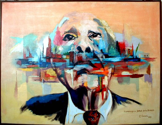 Homenaje a Jorge Luis Borges | Cuadro
