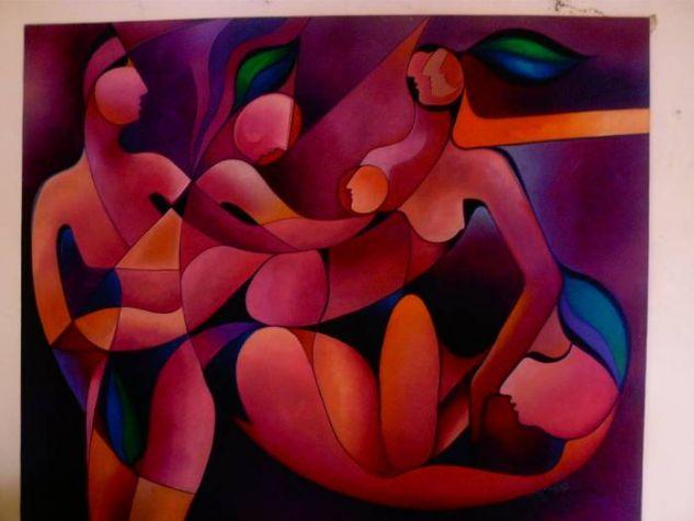 figuras Oil Canvas Figure Painting