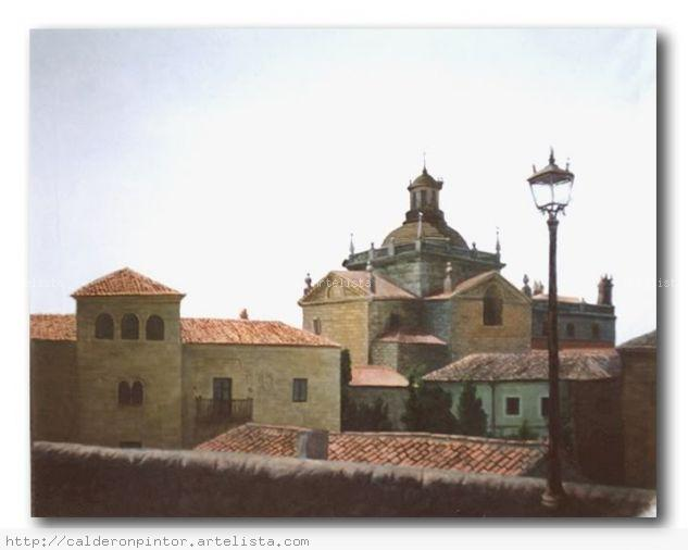 Ciudad Rodrigo Óleo Lienzo Paisaje