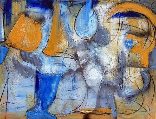 abstraccion IX Óleo Lienzo Otros
