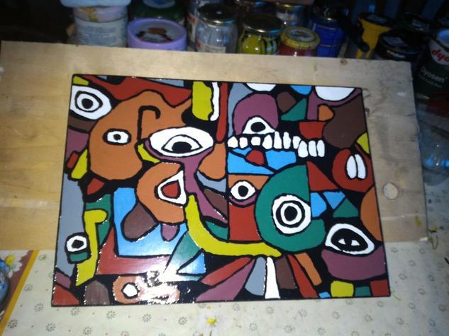abstract Otros Óleo Figura
