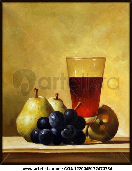 copa con frutas