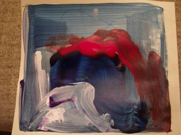 boceto abstracto 3 Otros Acrílico Cartulina