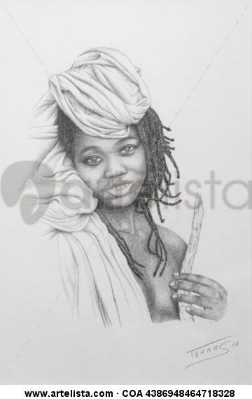 Nativa de Mali Lápiz