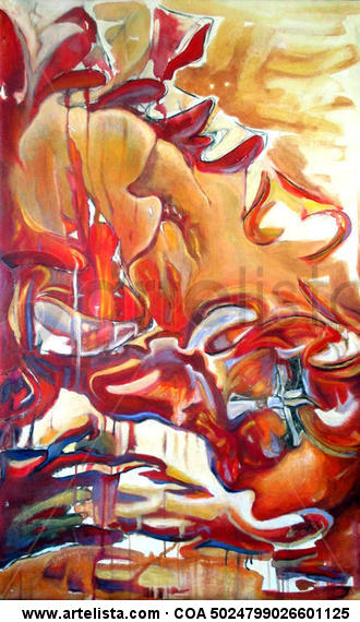 Red Mine Lienzo Media Mixta Otros