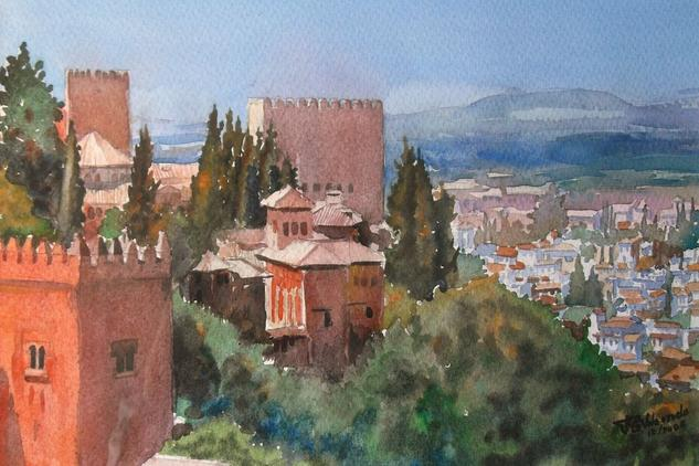 Alhambra Landscaping Watercolour Paper
