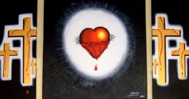 a dor de amar Tela Acrílico Otros