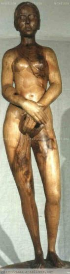 desnudas Madera Figurativa