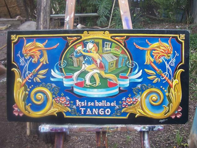 Asi se baila el tango Paisaje De vidriera Tabla