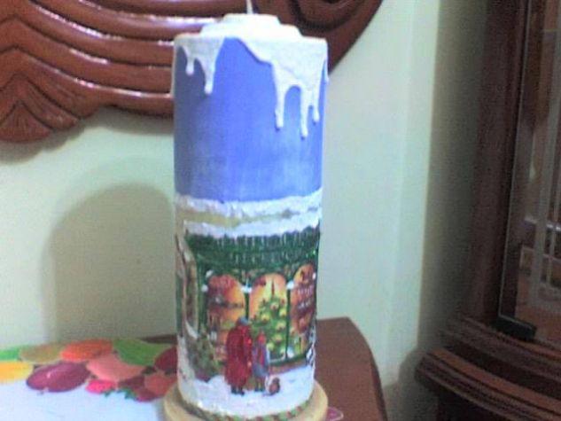 velones decorados Arte Floral Alfarería y Cerámica