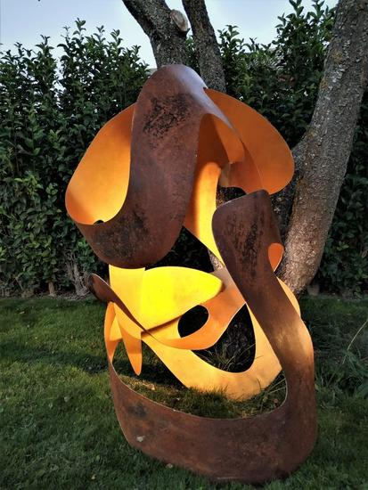 Golden Breeze 1 Abstracta Hierro