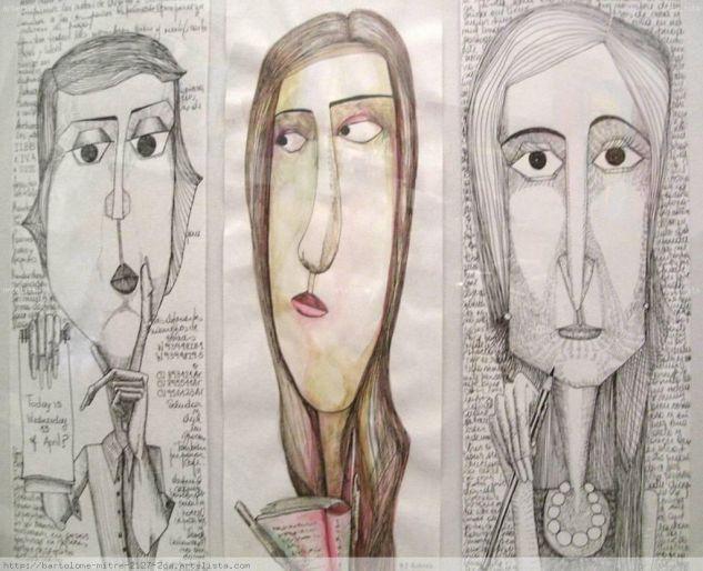 Tres mujeres. Maria Belén. Argentina