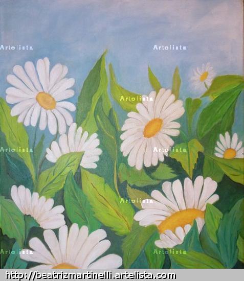 UNA PRIMAVERA Acrílico Lienzo Floral