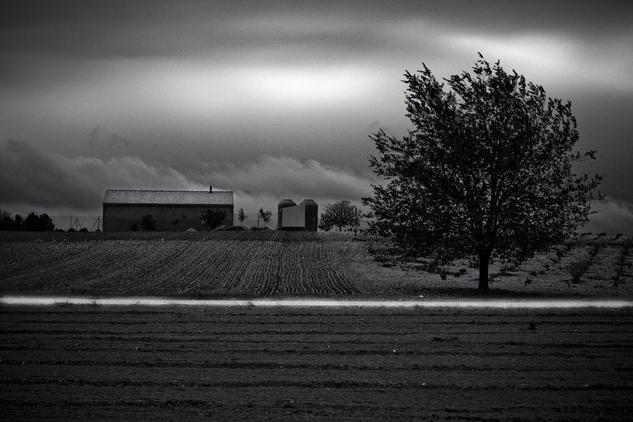 Sueño Boreal, La Mancha Black and White (Digital) Nature